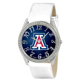 Game Time Glitz Series Team Logo Watch Patent Leather Strap Gift Box