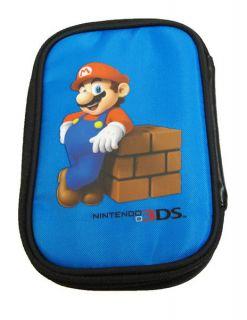 Nintendo 3DS Game Traveller Case Mario Blue