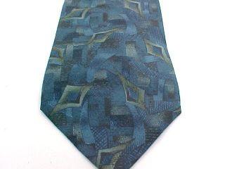 Geoffrey Bean 100 Import Silk Necktie Tie Pre Owned 1