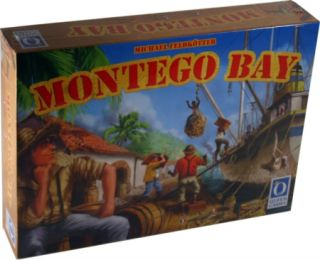 Montego Bay Board Game Queen Games New Board Game