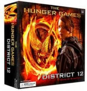 The Hunger Games District 12 Strategy Game board game (Wizkids