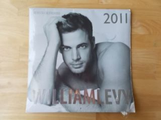 William Levy Bodybuilding Muscle Risque Gay Interest Calendar