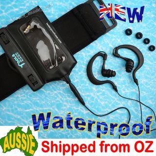 Waterproof Case Headphones iPod Nano Swimming  6 6g 6th Gen 8GB