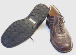 Johnston Murphy Mens Shoes Brown Sz 10 ½ M Sheepskin GC
