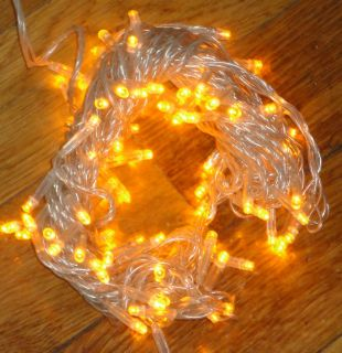 LED FLASH CHRISTMAS STRING LIGHT 120V 33(YELLOW)