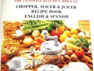 Large Size Salsa Maker Chopper Food Salad Spinner Juice