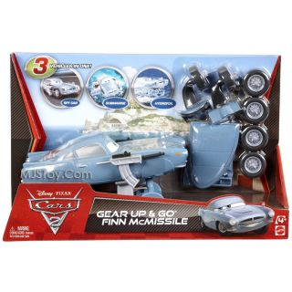 New Disney Pixar Cars 2 Gear Up Go Finn McMissile Spy Submarine