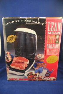home page  Listed as George Foreman GR20 Indoor Grill in category