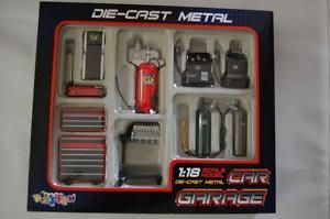 Diecast Car Garage Accessories Tool Set 1 18 Scale New