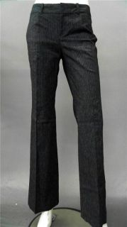 Ladies Womens 10 Stretch Dress Bootcut Pants Dark Gray Slacks