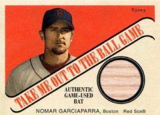Nomar Garciaparra 04 Topps Cracker Jack Mini Relic Card