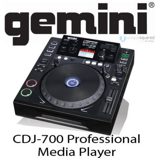 Gemini CDJ 700 USB DJ MIDI Controller MP3 CD Player Free Next Day Air