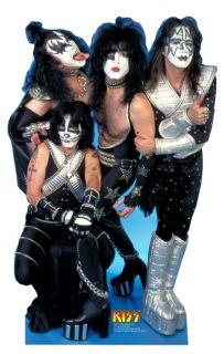 Kiss Gene Simmons Paul Stanley Lifesize Cardboard Standup Standee