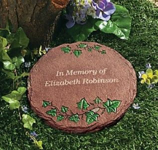 Personalized in Memory of Memorial Garden Stepping Stone