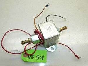 Massey Ferguson Snapper 1855 Tractor Electric Fuel Pump