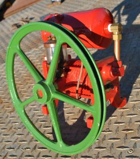 David Bradley Garden Tractor Hit Miss Gas Engine Air Compressor