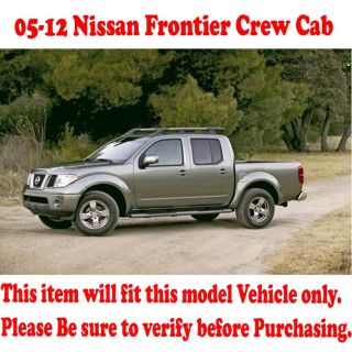 05 12 Frontier Crew Cab Stainless Side Step Nerf Bar Running Borad