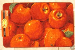Red Apples Kitchen Mat Fruits Door Mat Fruit Throw Rug