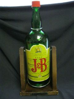 20 Huge J B Scotch Whisky Bottle Stand Tips 2 Pour