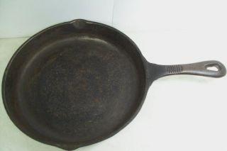 BENJAMIN MEDWIN 11 1/2 Cast Iron Skillet Fry Pan