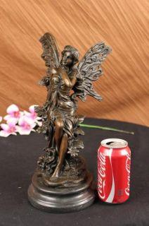 Statue Butterfly Angel Fairy Fantasy Garden Sculpture Decor