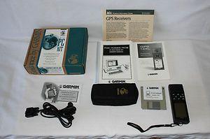 Garmin 12XL Handheld GPS Receiver with Accessories