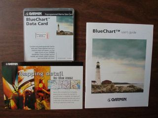 GARMIN BLUECHART DATA CARD & Users Guide { MUS010R,05 } FLORIDA