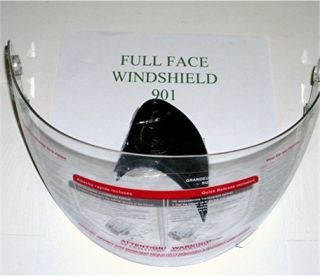 HELMET SHIELD VISOR CLEAR HY 901 FULL FACE IV2 TAOTAO FUEL HONGE JMG