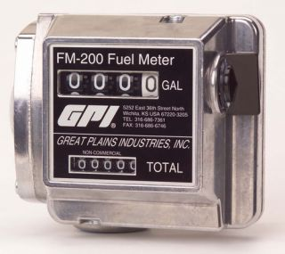 GPI FM200 G6N Mechanical Fuel Meter