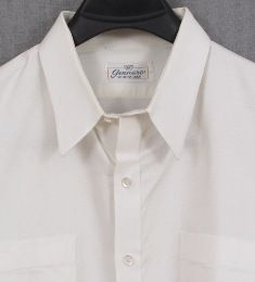 Gennaro Shirtmaker Philadelphia Custom White Dress Shirt 18 5 35