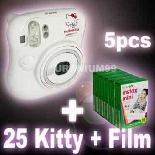 Fuji Fujifilm Instax 25 Hello Kitty Instant Camera Polaroid 50 White