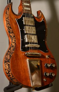 Gibson SG Customized 3 Pickup Angus Young P90 Maestro Tailpiece Lyre
