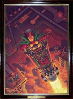 GERALD WALKER   Original MISTER MIRACLE Oil Painting   After Kirbys