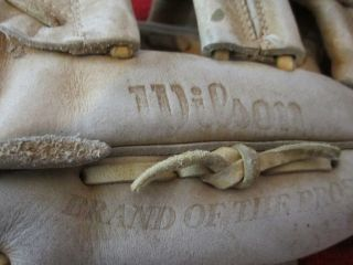 Wilson George Brett Pro Special autograph model baseball glove