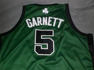 Kevin Garnett Boston Celtics NBA Adidas Swingman Alt Jersey Mens 3XL