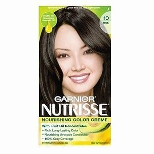 Garnier Nutrisse Color Creme BLACK LICORICE #10