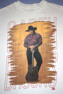 Garth Brooks Vintage 1990s Country Music Concert Tour T Shirt Adult x