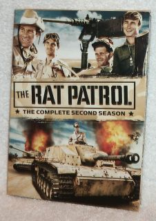 The Rat Patrol Christopher George TV Complete Second Season 2 DVD Set