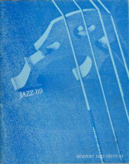 LED Zeppelin 1969 Newport Jazz Festival Program Book