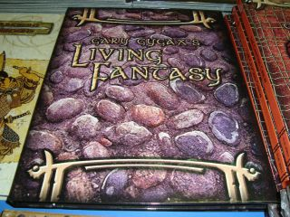 Gary Gygax Living Fantasy New Unused Dungeons and Dragons Game 3 5