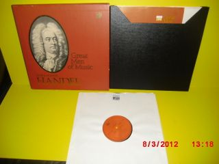 RECORDS Great Men of Music Series with Booklet George Frideric Handel