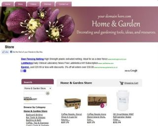 store page our website with thousands of products all the income will