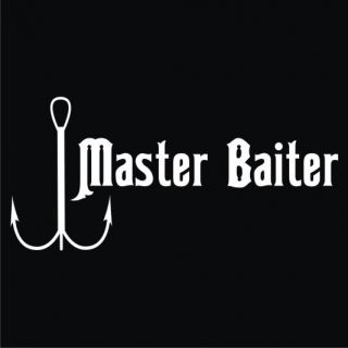 Master Baiter T Shirt Funny Fishing New 4 Colors Sz SM XL