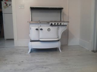 Victorian Era Wood Gas Cook Stove Works Great