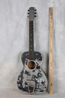 1938 43 The Plainsman Cowboy Guitar Gary Cooper Montgomery Ward