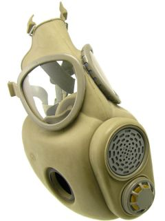 Military Surplus NEW Unissued Gas Mask w XTRA Filters & Carrying Bag