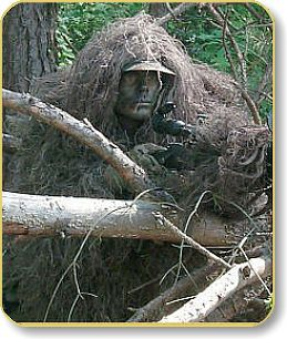 Ghillie Suit Tracker Kit  Mossy Color