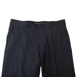 Gianfranco Ferre Dark Blue Silk One Button Suit US 46 EU 56