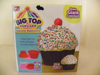 NEW Big Top Cupcake Cup Cake Cake Pan Giant Huge NIB As Seen on TV