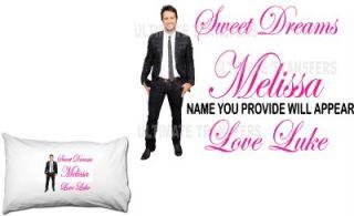 Luke Bryan Personalized Standard Pillowcase #2